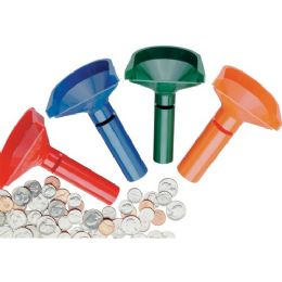 MMF Four Coin Tube Set - Office Supplies