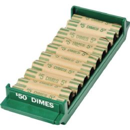 MMF Porta Count Coin Tray For $50 Dimes - Office Supplies