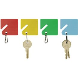 MMF Slotted Rack Key Tags with Snap-Hook - Tags