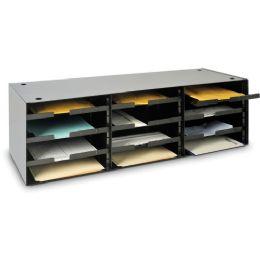 MMF Steelmaster 20633SRBK Sort/Distribution Literature Rack - Office Supplies