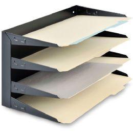 MMF Steelmaster Horizontal Desktop File Organizer - File Folders & Wallets
