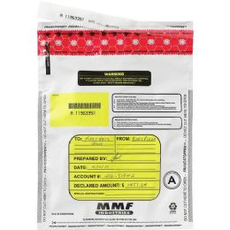 MMF Tamper-Evident Deposit Bag - Office Supplies