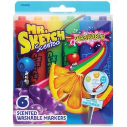 Mr. Sketch 6-count Scented Markers - Markers