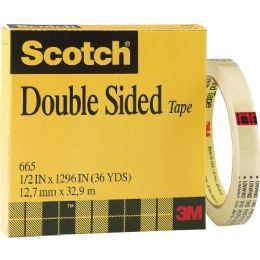 3M Scotch 665 Double-Sided Tape - Tape & Tape Dispensers