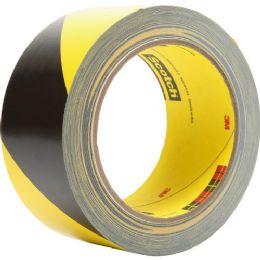 3M Scotch Diagonal Stripe Safety Tape - Tape & Tape Dispensers