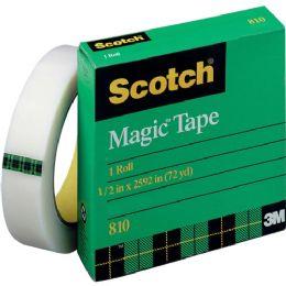 216 Units of 3M Scotch Transparent Magic Tape - Tape & Tape Dispensers
