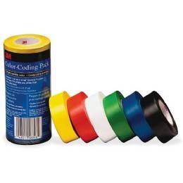 3M Vinyl Tape 764 Color-coding Pack - Tape & Tape Dispensers