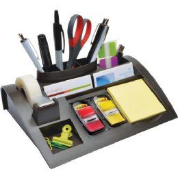3M Weighted Desktop Organizer - Office Supplies