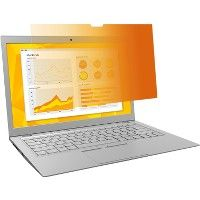 """3M™ Gold Privacy Filter for 13.3"""" Widescreen Laptop - Office Supplies"""