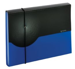 4 Units of 7 pocket poly expanding file  Letter, blue - File Folders & Wallets