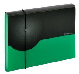 4 Units of 7 pocket poly expanding file  Letter, green - File Folders & Wallets