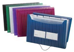 12 Units of 7-pocket Expanding File - File Folders & Wallets
