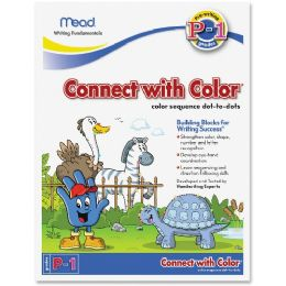 504 Units of Acco Connect With Color Grades P-1 Workbook Education Printed Book - Office Supplies