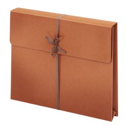 "50 Units of Wallet Envelopes With Tie Closures, Letter Size, 2"" Expansion - Envelopes"