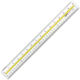 Westcott Data Highlight Ruler - Office Supplies
