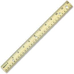 Westcott Metal Edge Ruler - Office Supplies