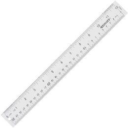 Westcott SeE-Through Ruler - Office Supplies