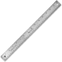 Westcott Stainless Steel Ruler - Office Supplies