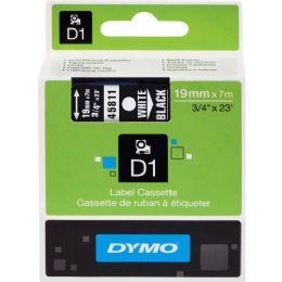 Dymo White On Black D1 Label Tape - Labels