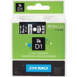 Dymo White On Black D1 Label Tape - Labels