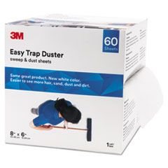 "Easy Trap Duster, 8"" x 30ft, White, 60 Sheets/Box, 8 Boxes/Carton - Boxes & Packing Supplies"