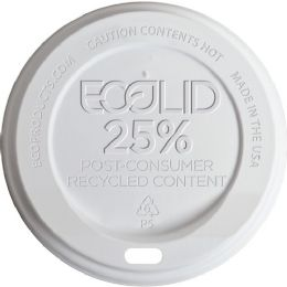 Eco-Products EcoLid Recycled Large Hot Cup Lids - Office Supplies