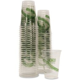 Eco-Products GreenStripe Cold Cup - Office Supplies