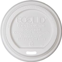EcO-Products Renewable Ecolid Hot Cup Lids - Office Supplies