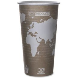 280 Units of EcO-Products World Art Hot Beverage Cups - Cups