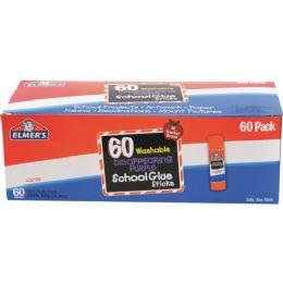 36 Units of Elmer's Disappearing Purple School Glue Sticks 60ct - Glue