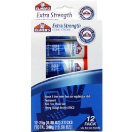 48 Units of Elmer's Extra Strength Permanent Glue Stick - Glue
