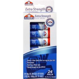 60 Units of Elmer's Extra Strength Permanent Glue Stick - Glue