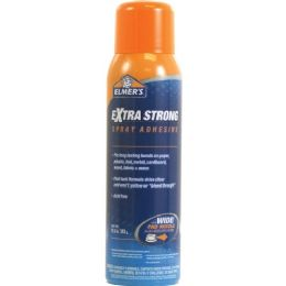 108 Units of Elmer's Extra Strong Spray Adhesive - Office Supplies