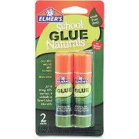 528 Units of Elmer's Naturals School Glue Sticks - Glue