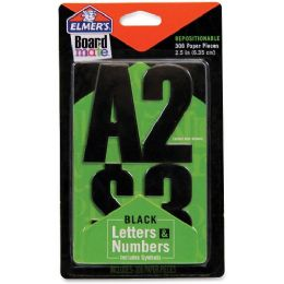 216 Units of Elmer's Project Popperz Black Letters & Numbers - Office Supplies