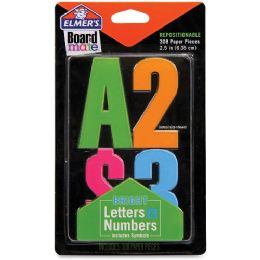 216 Units of Elmer's Project Popperz Bright Letters & Numbers - Office Supplies