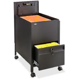 Safco Rollaway Mobile File Cart - File Folders & Wallets