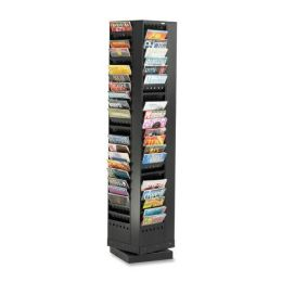 2 Units of Safco Rotary Display Rack - Office Supplies