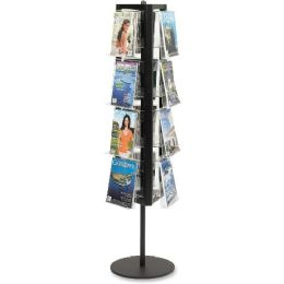 Safco Rotary Literature Display Rack - Office Supplies