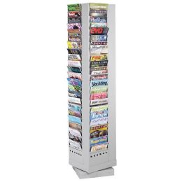 2 Units of Safco Rotary Magazine Rack - Office Supplies