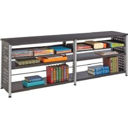 Safco Scoot Credenza Contemp Design Bookcase - Sign