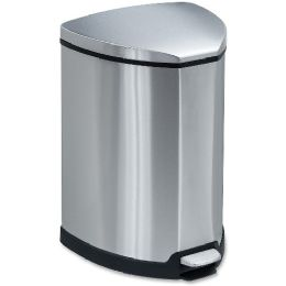 Safco SteP-On Waste Receptacle - Janitorial Supplies