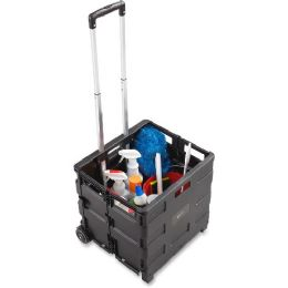 Safco Stow Away Folding Caddy - Office Supplies