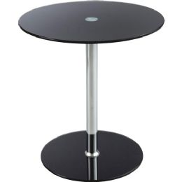 Safco TempereD-Glass Accent Table - Office Supplies