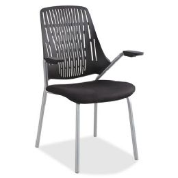 4 Units of Safco Thrill Frameless Back Guest Chair - Frame