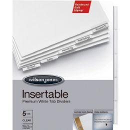 Acco Gold Pro Insertable Tab Index - Office Supplies