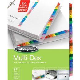 36 Units of Acco Multidex A-Z Complete Index Divider - Dividers & Index Cards