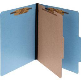 5 Units of Acco Presstax Colorlife Four Section Classification Folder - Folders & Portfolios