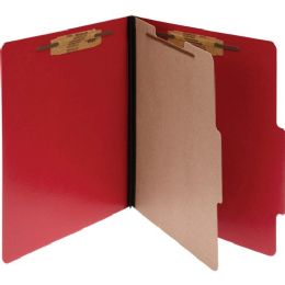 Acco Presstax Colorlife Four Section Classification Folder - Folders & Portfolios