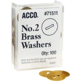 Acco Solid Round Head Washer - Office Supplies